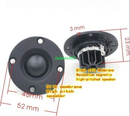 1pcs For MK 52mm 6ohm 30W dome Silk film Tweeter Hifi Speaker Loudspeaker