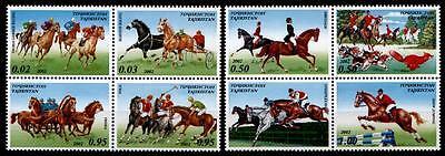 KüHn Pferde. Pferdesport. Tadschikistan 2002 Novel (In) Design;