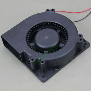 24V 2Pin 120mm 32mm DC Blower Exhaust Turbine Fan Cooling for PC Computer Laptop