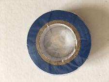 1 Rouleau de Scotch Isolant Electrique 10 mètres 15 mm couleur bleu neuf