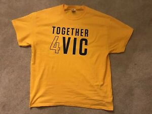 best service 521dd 35cd3 Details about **RARE** NEW Indiana Pacers TOGETHER 4 VIC Victor Oladipo  T-Shirt Men's XL