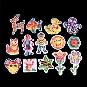 Clear-Perler-Hama-Beads-Peg-Board-Pegboard-Template-Funny-DIY-Creative-Craft-M-amp-O