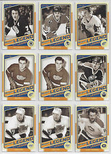 12-13 OPC Complete Your Marquee Legends Set #501-551