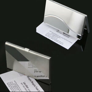 New stainless steel business driver id credit card protector image is loading new stainless steel business driver id credit card reheart Images