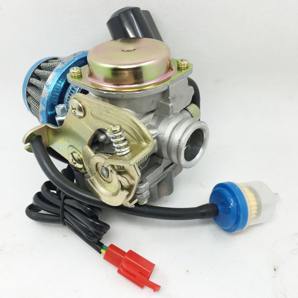CARBURETOR& AIR FILTER MOTOFINO 50QT-2 50QT-6 ETON SPORT 50 50CC SCOOTER
