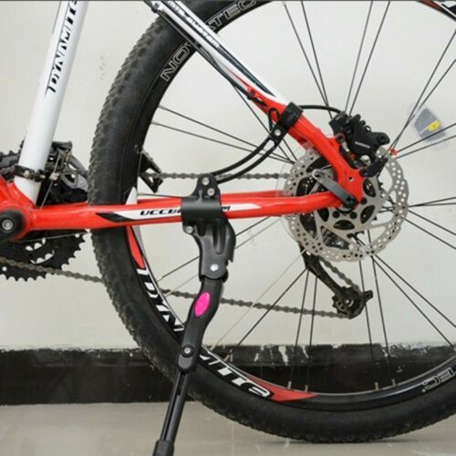 Black MTB Road Bike Mountain Bicycle Adjustable Alloy Bike Side Kickstand USA