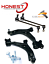 For MAZDA 3 2005-2010 FRONT LOWER SUSPENSION WISHBONE CONTROL ARMS /& LINKS