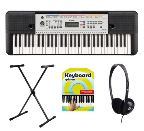 Tolles 61-Tasten Einsteiger Keyboard von Yamaha mit Ständer, Kopfhörer & Schule