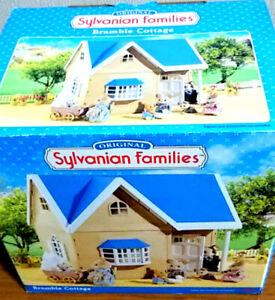 Sylvanian-Families-BRAMBLE-COTTAGE-2003-Calico-Critters-Epoch-Japan