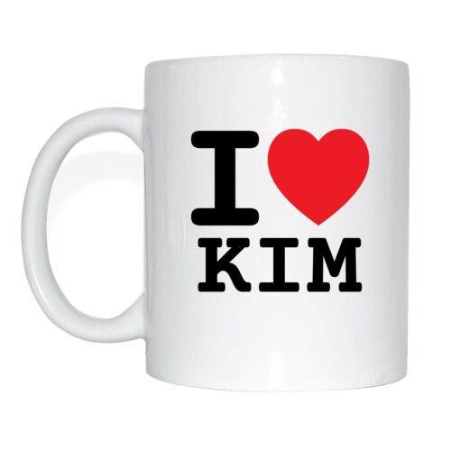 I love KIM Tasse Kaffeetasse