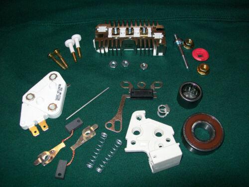 Delco Alternator 3 Wire Kit 100 AMP 10SI HI Performance Heavy Duty Rectifier