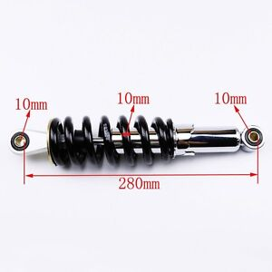 800LBS-Motorcycle-11-034-280mm-Rear-Shock-Absorber-Suspension-Pit-Dirt-Bike-Honda