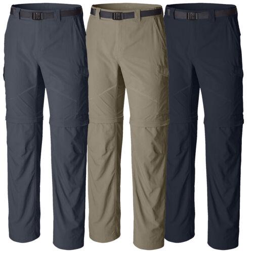 "New Mens Columbia /""Silver Ridge/"" Convertible Omni-Wick Omni-Shade Pants"