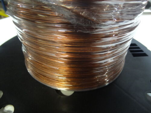 GROUND WIRE SOLID BARE COPPER 18 AWG 1000/' Reel  Jewelry Crafts Grounding USA