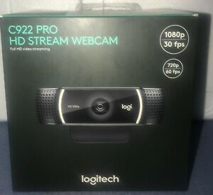 New-Logitech-C922-Pro-Stream-1080P-Full-HD-Tripod-Microphone-Webcam-10-Available