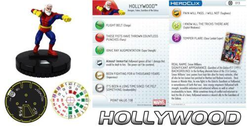 HOLLYWOOD #013 Galactic Guardians Marvel Heroclix