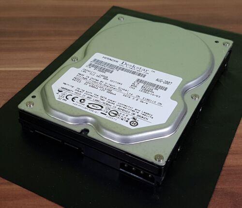 1 von 1 - Hitachi Deskstar 7K160 160GB 7200RPM Hds721616pla380 0Y30006 TOP!