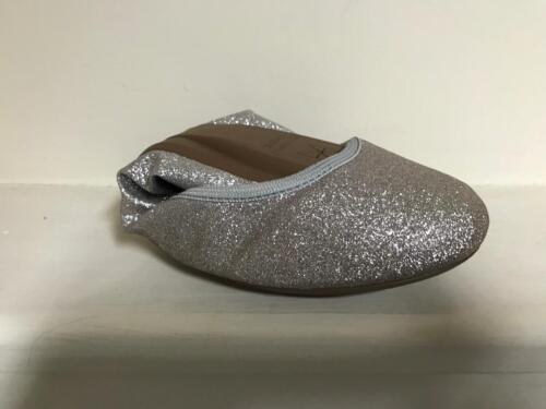 Butterfly twists sophia foldable ballet pump silver,rose gold,gold ombre glitter