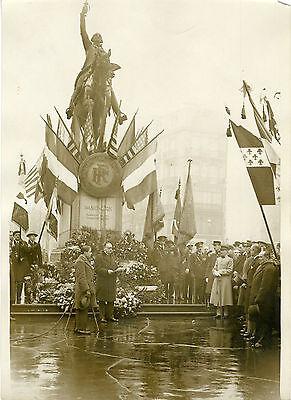 """""""bi-centenaire De Washington Paris 1932"""" Photo Originale G.devred (agce Rol) Haciendo Las Cosas Convenientes Para Los Clientes"""