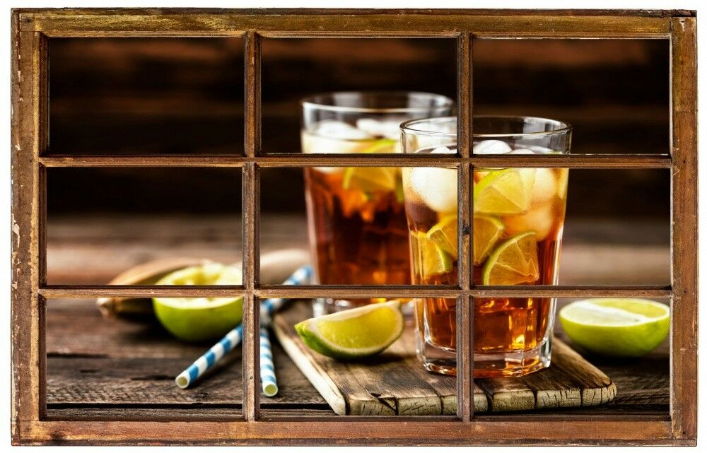 BEVANDE DRINK tè frossodo Cucina Muro Tatuaggio Parete Adesivo Parete Adesivo h1245