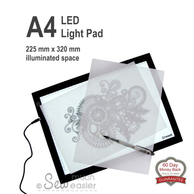 Light-Box Pattern Tracing Pad LED A4 Lightbox Art Tattoo Design Stencil Drawing