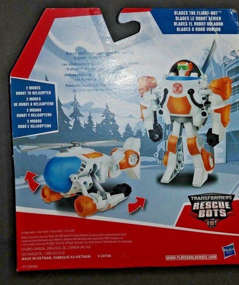 Playskool Heroes Heroes Heroes Transformers Rescue Bots Rescan Blades The Flight Bot Action b38993