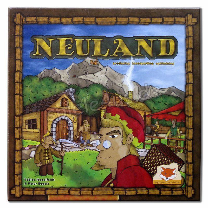 Jeu de société Neuland - En anglais - Neuf, encore emballé - Eggerstpiele