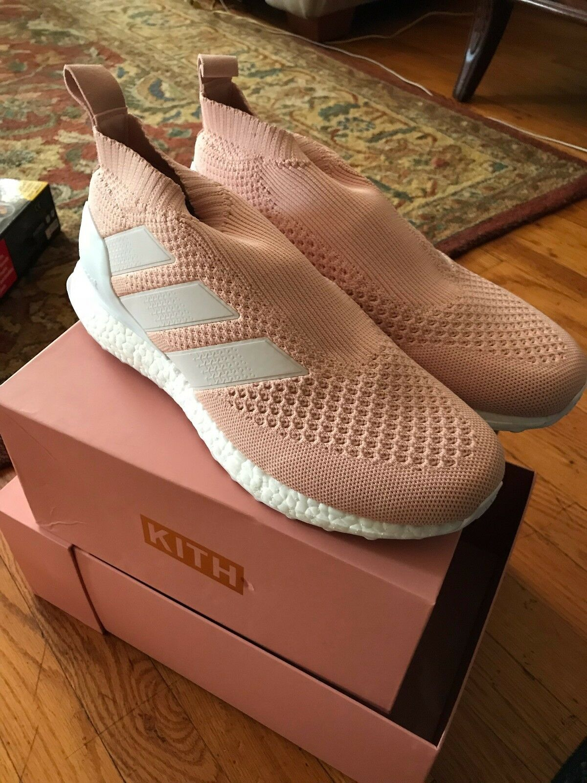 Ultra Boost Kith Flamingos ACE 16 PureControl Size 9