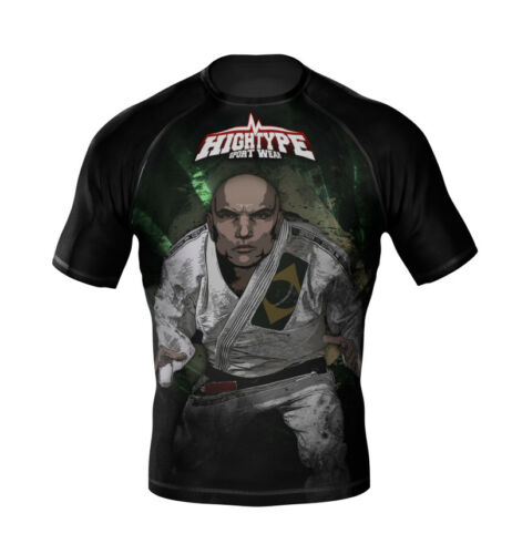 HighType BJJ Way of Life Rash Guard All Belts MMA Fightwear Compression