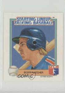 1988 Starting Lineup Talking Baseball Texas Rangers Scott Fletcher #16