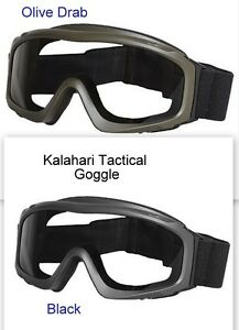 3c724a4d4d6b45 Image is loading Kalahari-Tactical-Goggles-180-Degree-Viewing-UV-400-