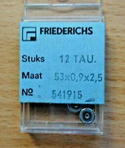 Kronen 100% Wahr Lot Mit 12 Neuwertigen Aufzugskronen Für Taucheruhren Stahl 5,3/0,9/2,5 Mm..,ält