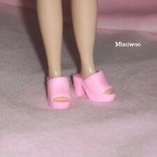"""12"""" Neo Blythe Pullip Doll Fashion Wear Open End High Heel Shoes Pink"""