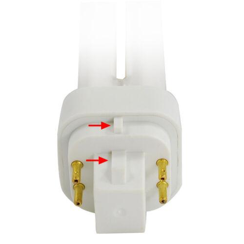 USHIO 13w CF13DE//841 G24q-1 Dimmable Compact Fluorescent Bulb 60w equiv.