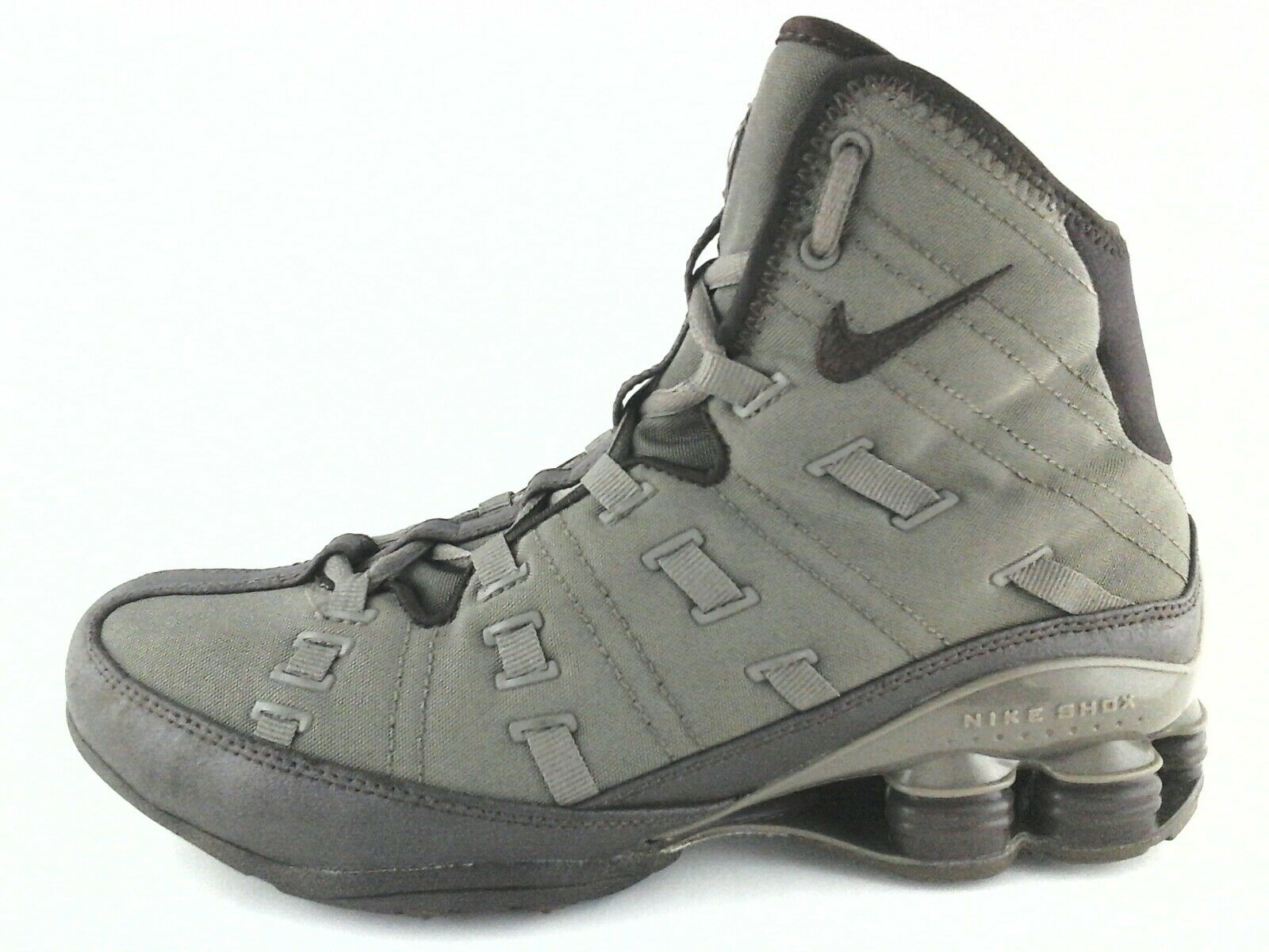 NIKE SHOX Shoes 06' High Top Sneakers Olive Green 313740 Women's US 8 WOW Seasonal price cuts, discount benefits