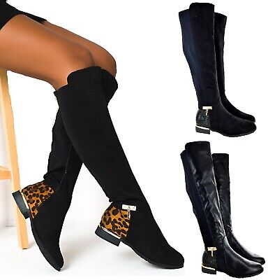 LADIES WOMENS OVER THE KNEE HIGH