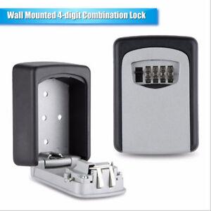 4-Digit-Password-Combination-Key-Safe-Security-Storage-Box-Lock-Case-Wall-Mount
