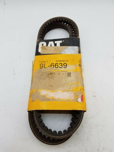 Caterpillar CAT 9L-6639 Cogged V-Belt OEM Stock Part 9L6639 Replacement