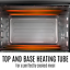 thumbnail 7 - 45L Convention Oven Bench Top Multi Ventilation Hotplates Countertop Baking New