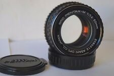 Pentax M SMC 50mm f1.4 K P/K Mount Manual Standard Prime Lens