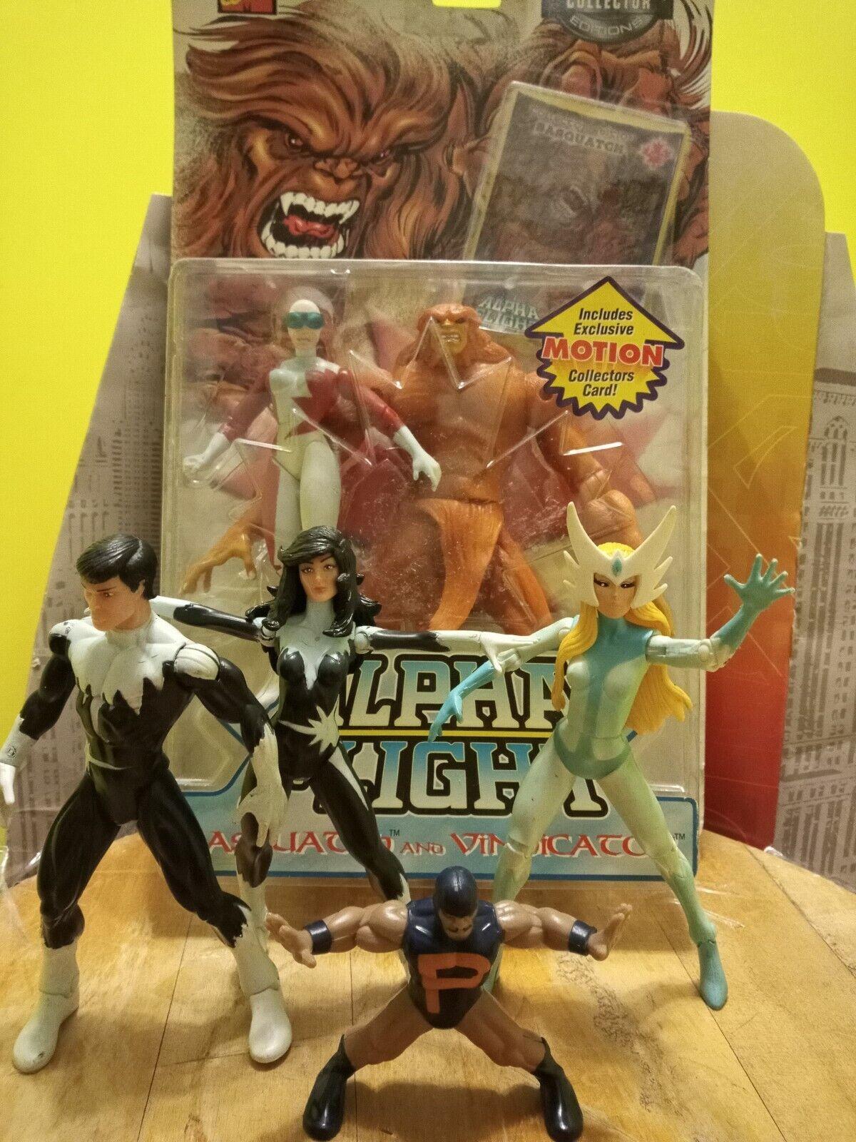 Marvel ALPHA FLIGHT Figure 2 Pack Set SEALED ToyBiz Vintage & action figure lot