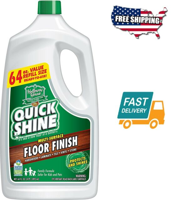 Multi Surface Floor Finish And Polish 64 Oz Refill Bottle For