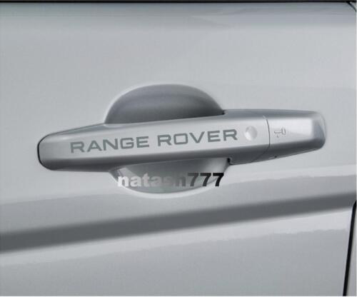 RANGE ROVER LAND ROVER Sport Door Handle Vinyl decal sticker emblem logo 4 pcs