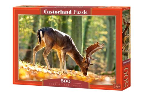 Castorland b-52325 puzzle King of the Forest Hirsch Nature Forêt Automne 500 pièces