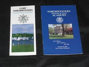 Booklet NMNA Northwestern Military Naval Academy School Brochure History SJNMNA