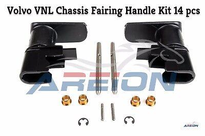 Volvo Vnl Chassis Fuel Tank Fairing Handle Kit 14 Pcs