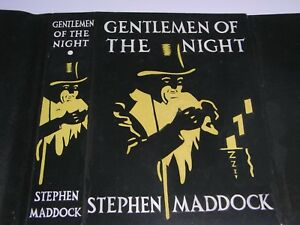 THE ORIGINAL WATERCOLOUR ART WORK FOR BOOK JACKET COVER - GENTLEMEN OF THE NIGHT