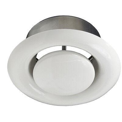 Deckenventil Tellerventil ABLUFT Ventil Ø 80 100 125 150 160 200 mm Stahl AMW