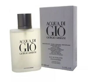 GIORGIO ARMANI Acqua Di Gio 3.4 oz / 100 ml EDT for MEN Cologne NIB Testr