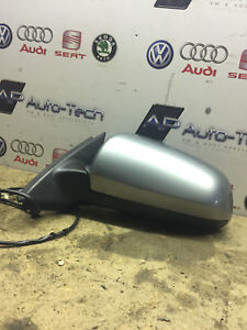 Wing-Mirror-Electric-NS-Passenger-Side-AUDI-A4-Avant-S-Line-B7-2-0TDI-140BHP